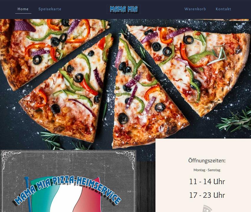 MAMA MIA Pizza-Heimservice